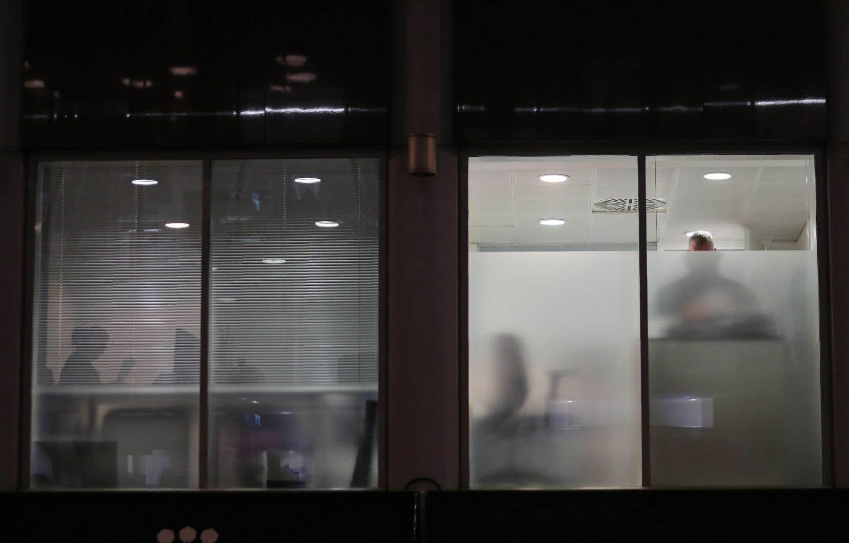Dix-huit membres de l'Information Commissionner's Office se trouvaient au siège britannique de l'entreprise, situé en plein coeur de Londres.