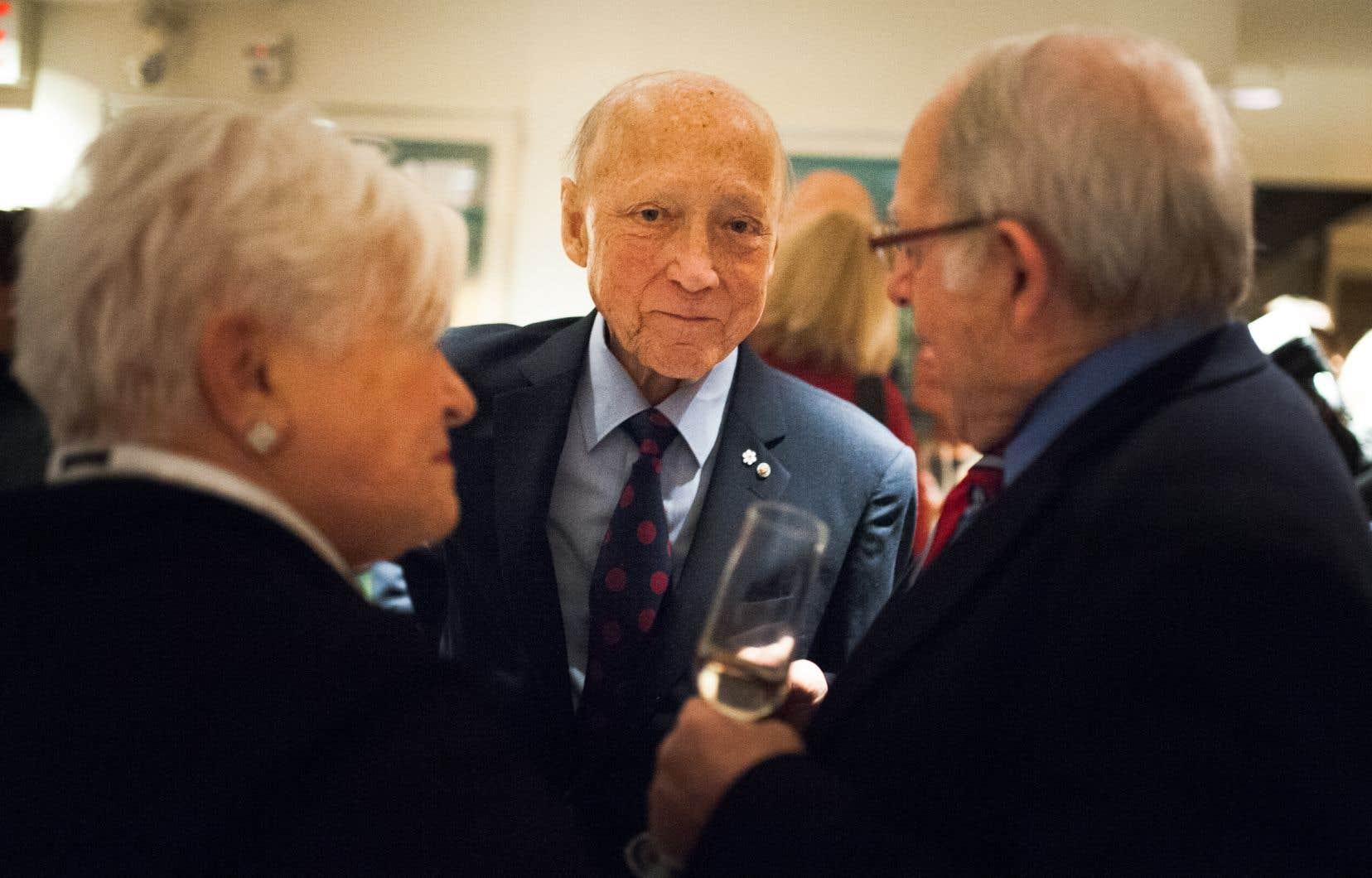 En février dernier, la maison des Jeunesses musicales du Canada a été renommée Maison André-Bourbeau pour rendre hommage au ministre qui a été une figure importante du milieu musical.