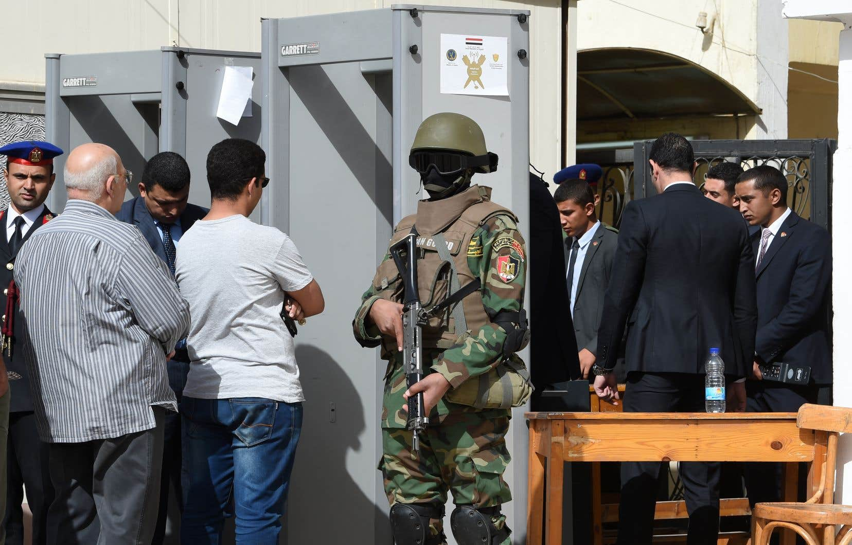 Les opérations de vote ont été placées sous haute surveillance.