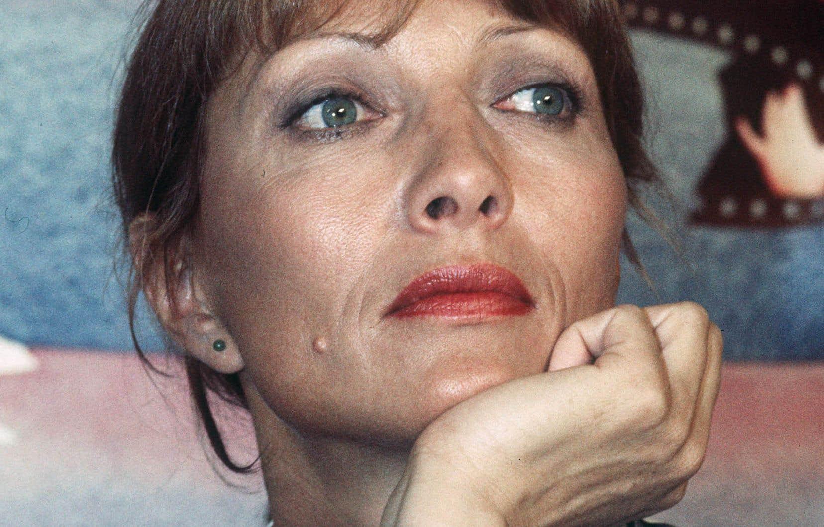 L'actrice française photographiée au mois de mai 1978 alors qu'elle assiste au Festival de Cannes