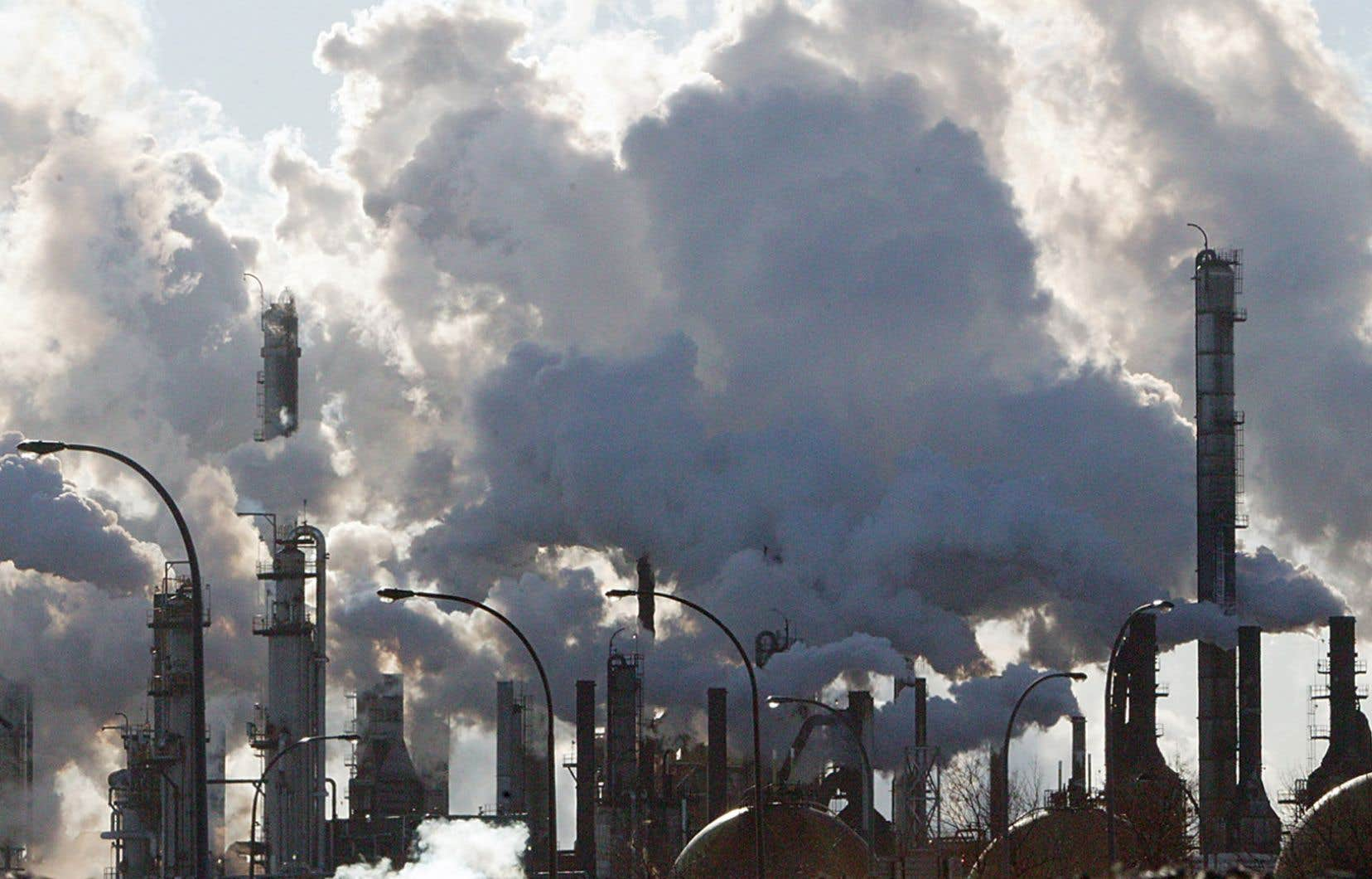 Le Canada est également loin du fil d'arrivée en matière de réduction des émissions de gaz à effet de serre.