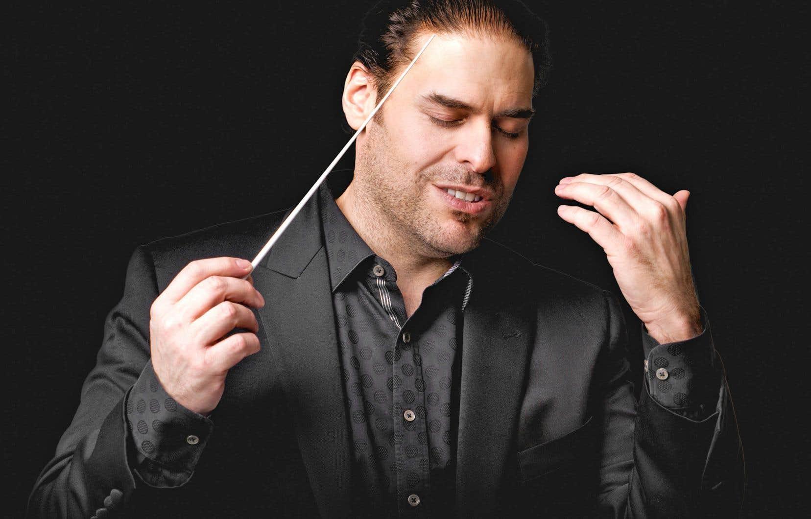 Jean-Marie Zeitouni, le directeur artistique d'I Musici de Montréal