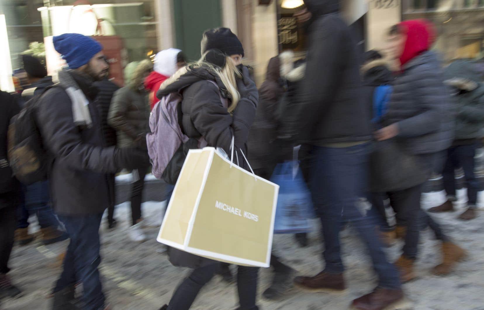 Les dépenses de consommation finale des ménages québécois ont augmenté de 3,1% en 2017.