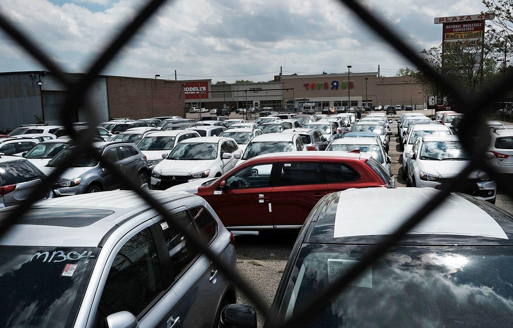 La Fed d'Atlanta prévoit seulement 1,8% d'expansion en rythme annuel, du fait d'indicateurs mitigés dans les ventes de détail et d'automobiles notamment.