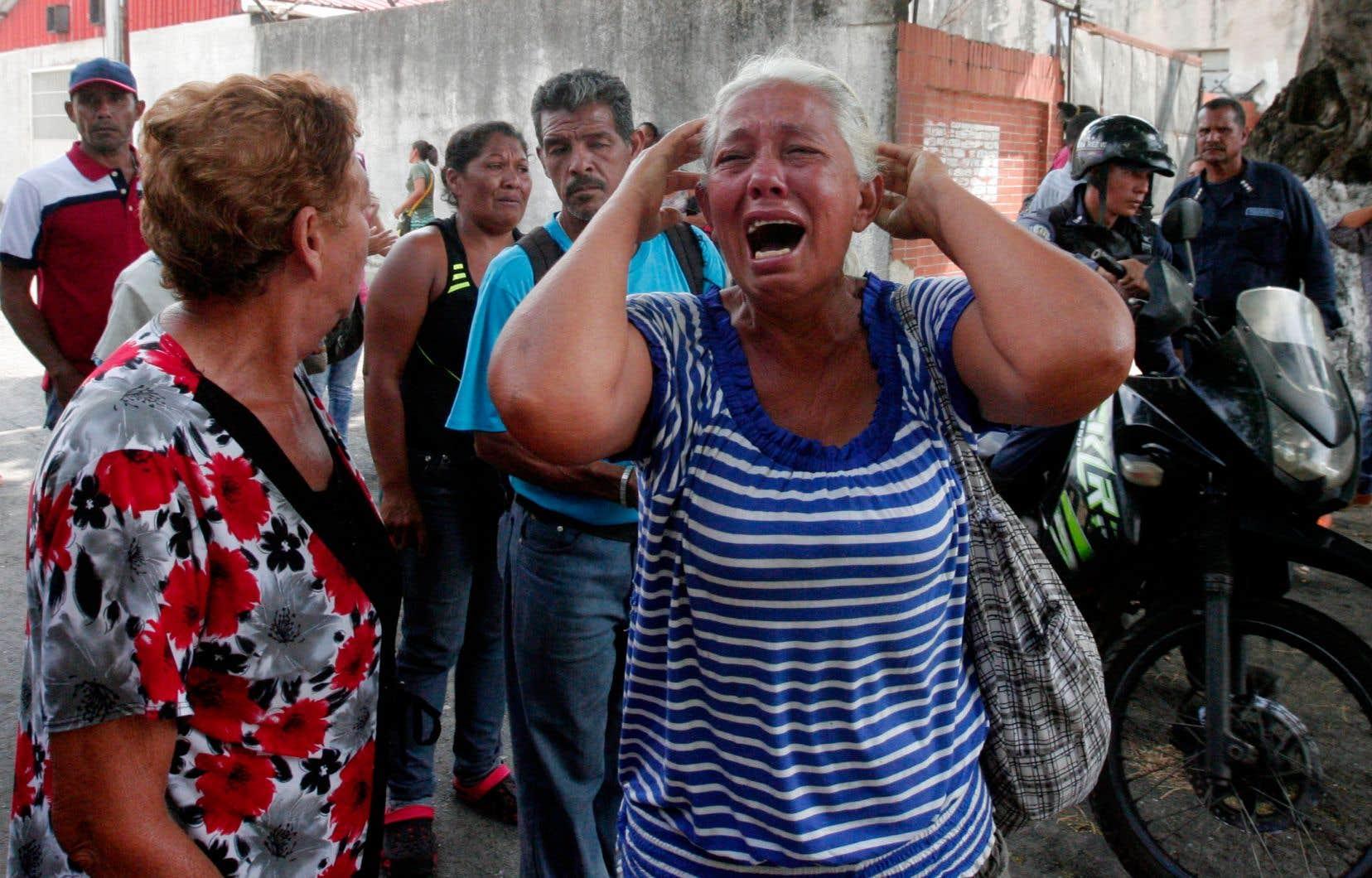 Des dizaines de morts et de blessés lors d'une mutinerie — Venezuela