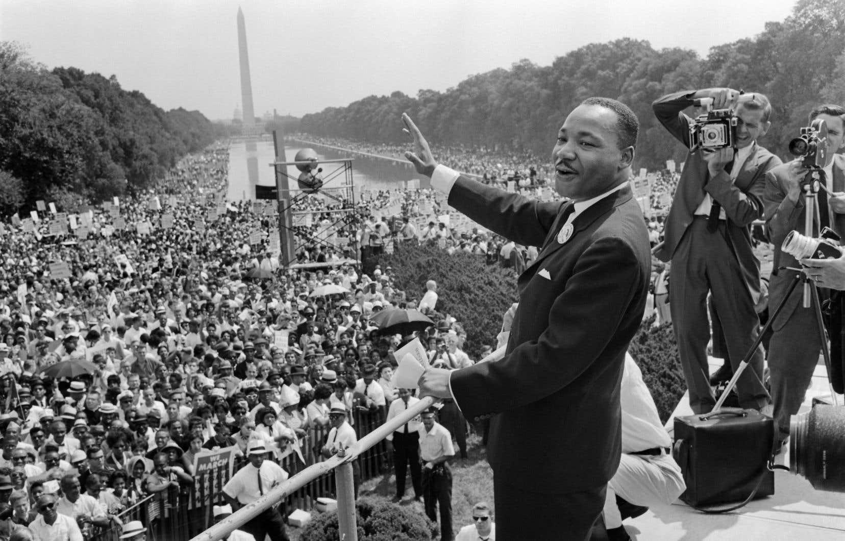 Le 28août 1963, lors de l'imposante Marche sur Washington, Martin Luther King a prononcé son célèbre discours «I have a dream».