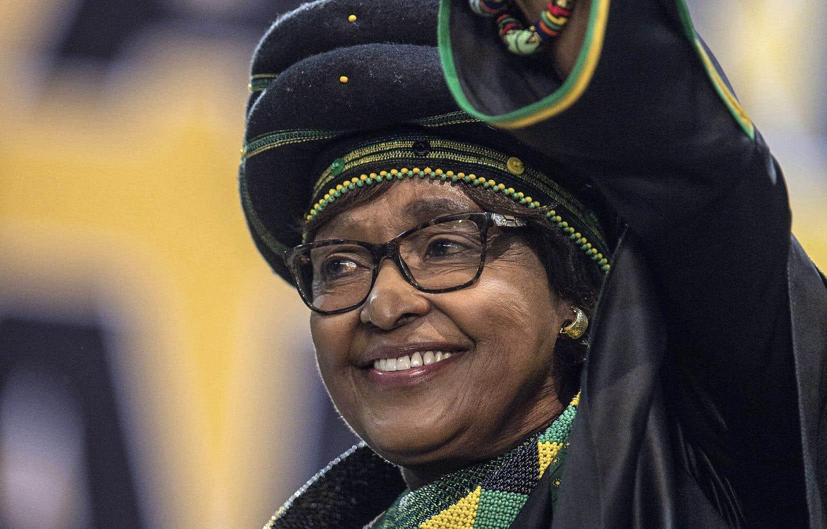 Winnie Madikizela Mandela lors du 54e Congrès national africainen décembre dernier