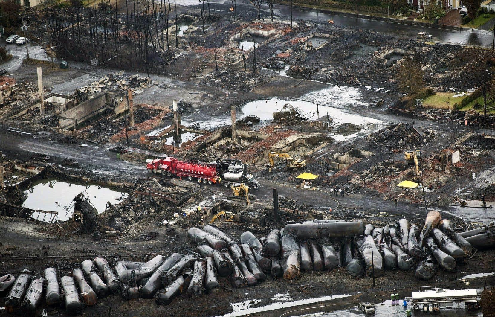 Pas moins de 47 personnes sont mortes, le centre-ville de Lac-Mégantic a été anéanti, une ville entière a subi un grave traumatisme, mais personne ne sera tenu criminellement responsable de cette tragédie.