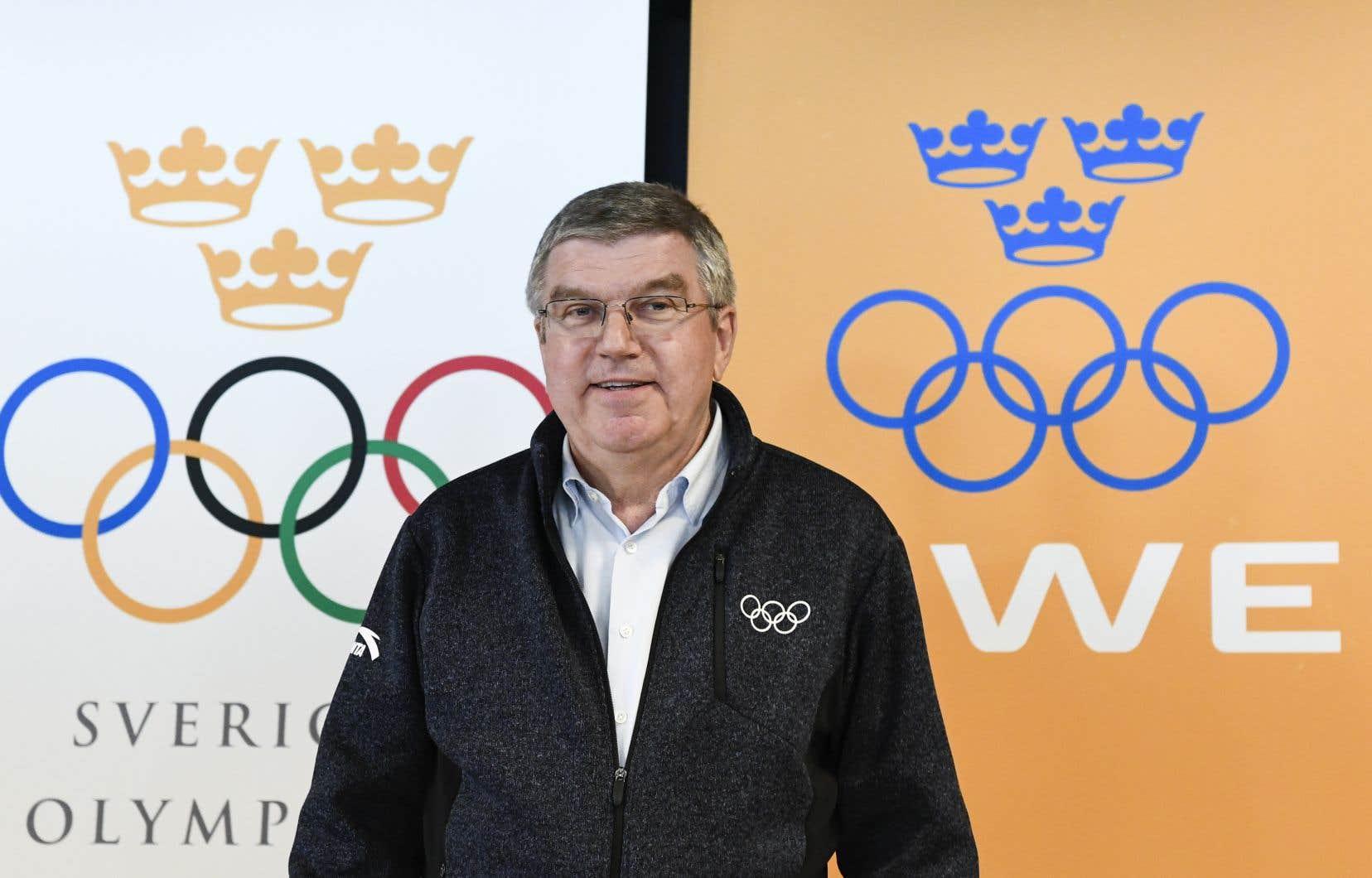 Le président du Comité international olympique,Thomas Bach