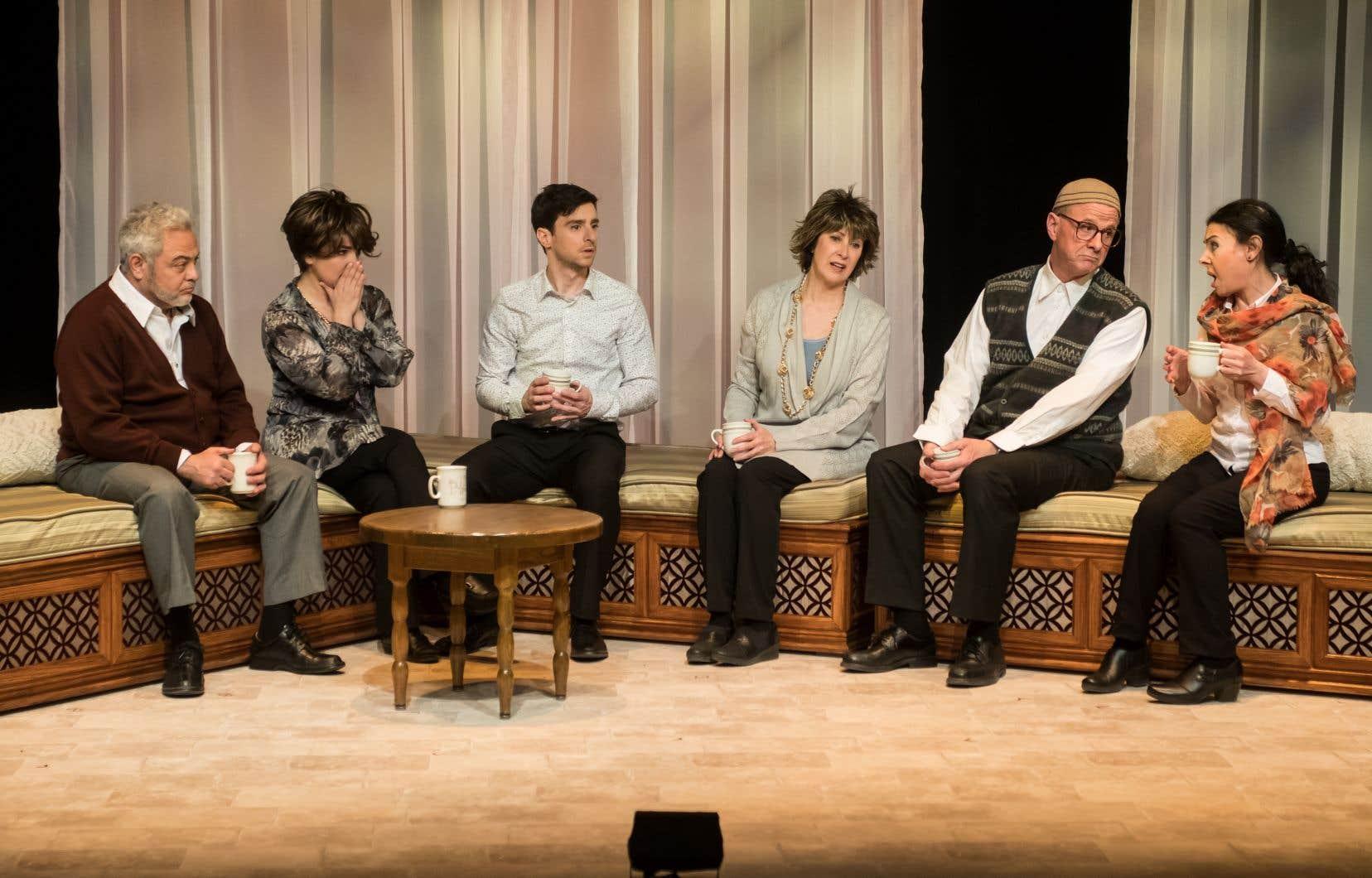 Les protagonistes de la comédie dramatique cherchent un terrain d'entente.