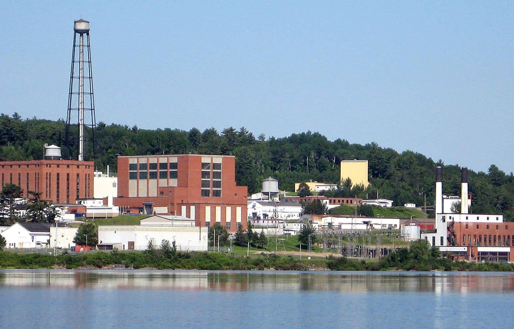Le réacteur nucléaire de Chalk River est situé sur les berges de la rivière des Outaouais.