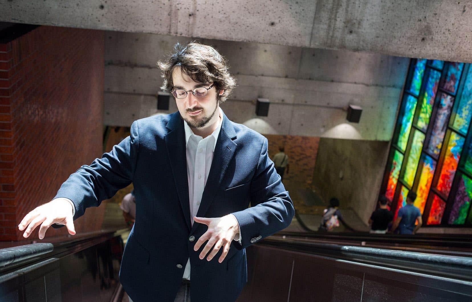 Le pianiste québécoisCharles Richard-Hamelin