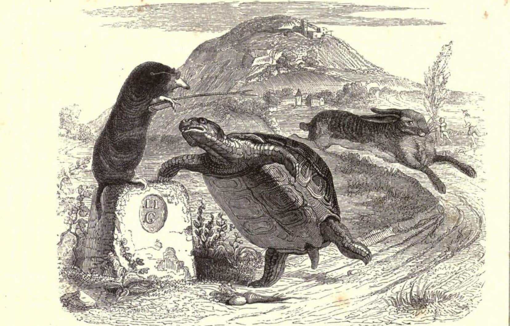 Les fables de Jean de la Fontaine, comme celle du lièvre et de la tortue, ont été apprises par des générations d'écoliers.