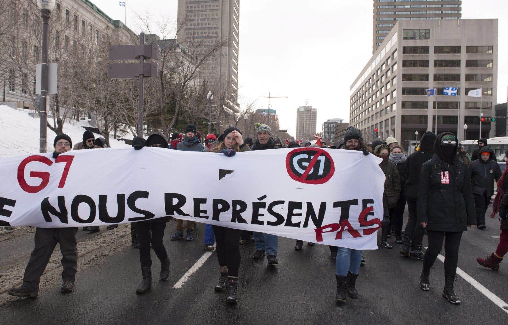 Sommet du g7 l opposition s organise et planifie des for Galerie du meuble quebec