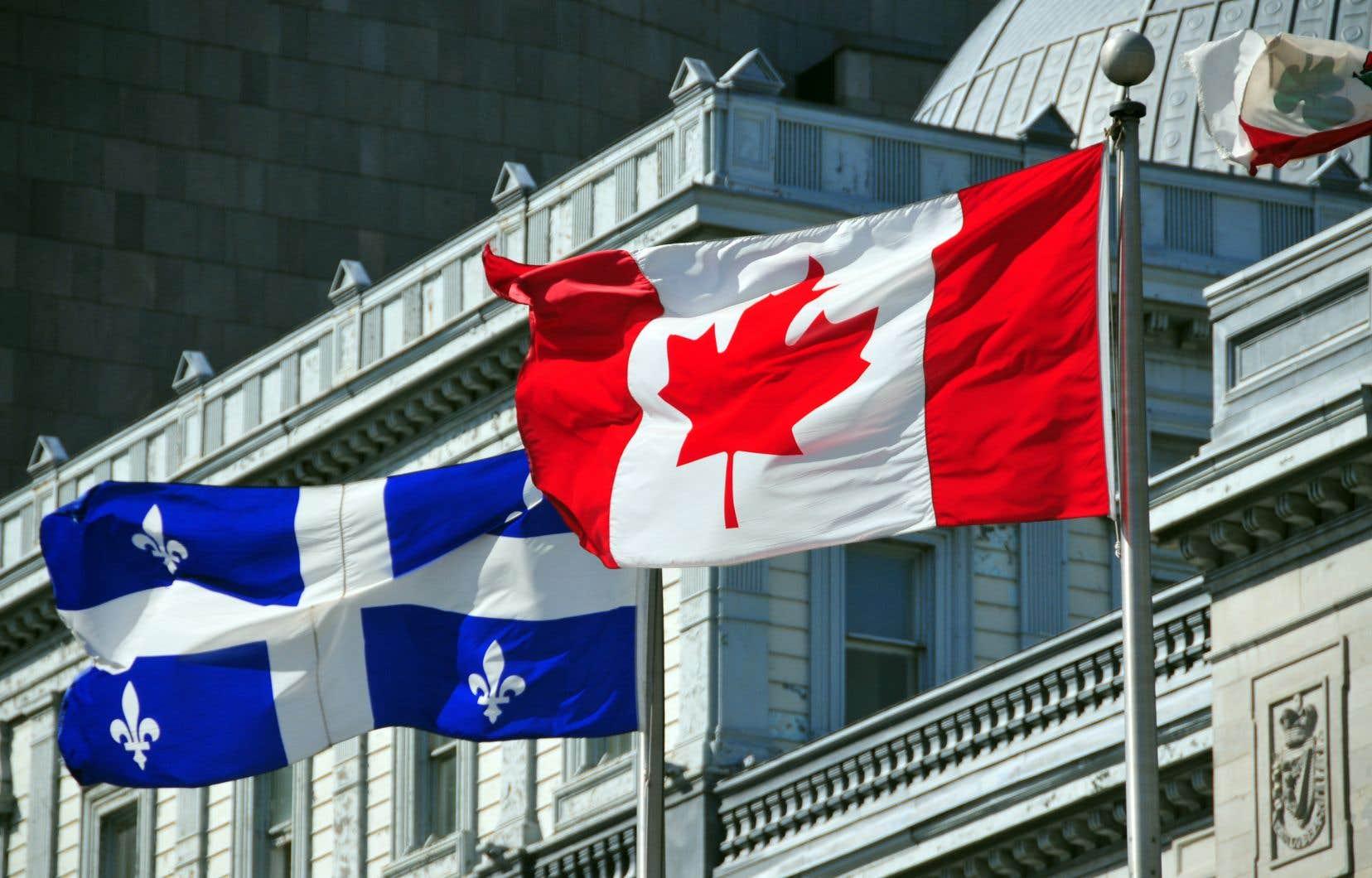 Dans la mesure où le Québec est toujours un membre à part entière de la fédération canadienne, pourquoi devrait-il se priver d'une partie des transferts fédéraux auxquels il a droit, se questionne l'auteur.