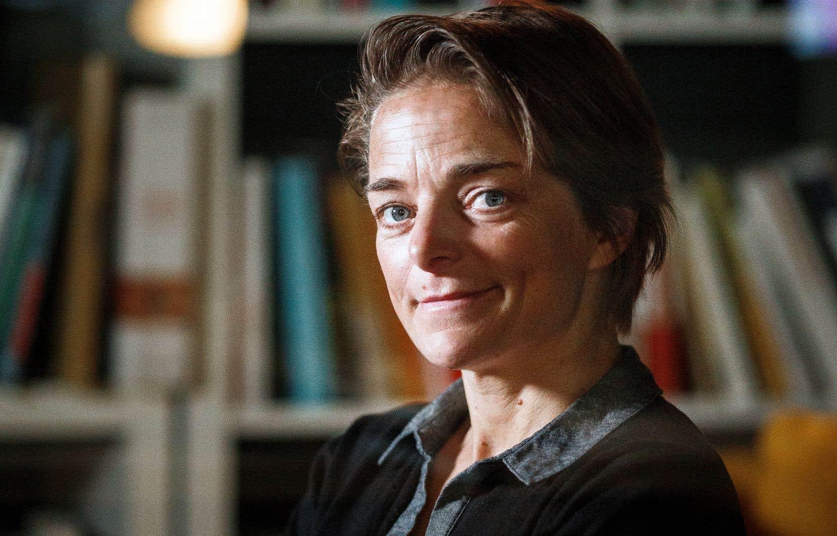 La plongeuse, cinéaste et photographe Nathalie Lasselin va réaliser un documentaire sous-marin sur les eaux du Saint-Laurent, aux alentours de Montréal.