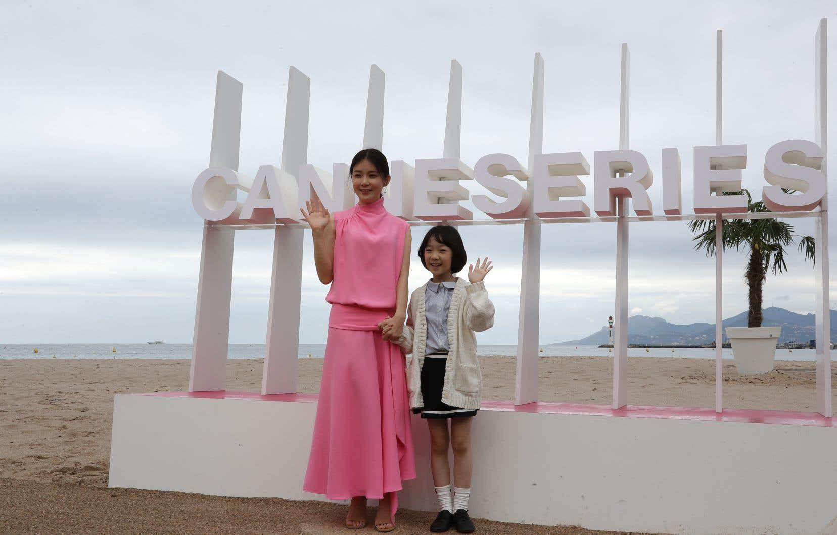 Les actrisses sud-coréennesLee Bo-Young (à gauche) et Heo Yool de la série «Mother».