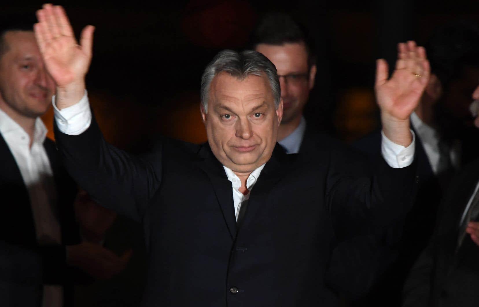 Viktor Orban a affirmé pendant sa campagne vouloir travailler avec l'Italie et l'Autriche à une alliance de pays hostiles à l'immigration musulmane.