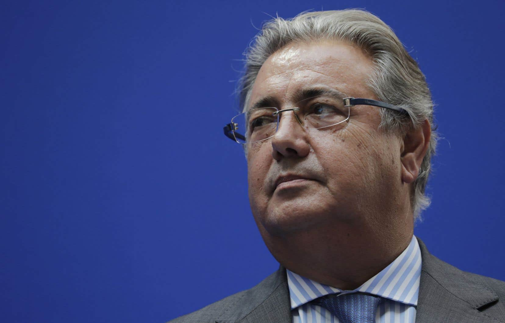 Le ministre espagnol de l'Intérieur, Juan Ignacio Zoido