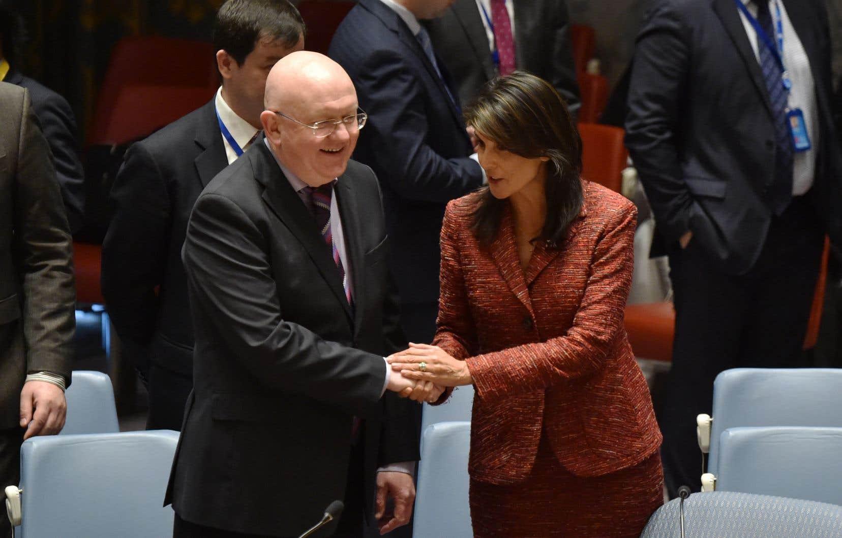 Syrie : veto russe à l'ONU à un projet de résolution américain
