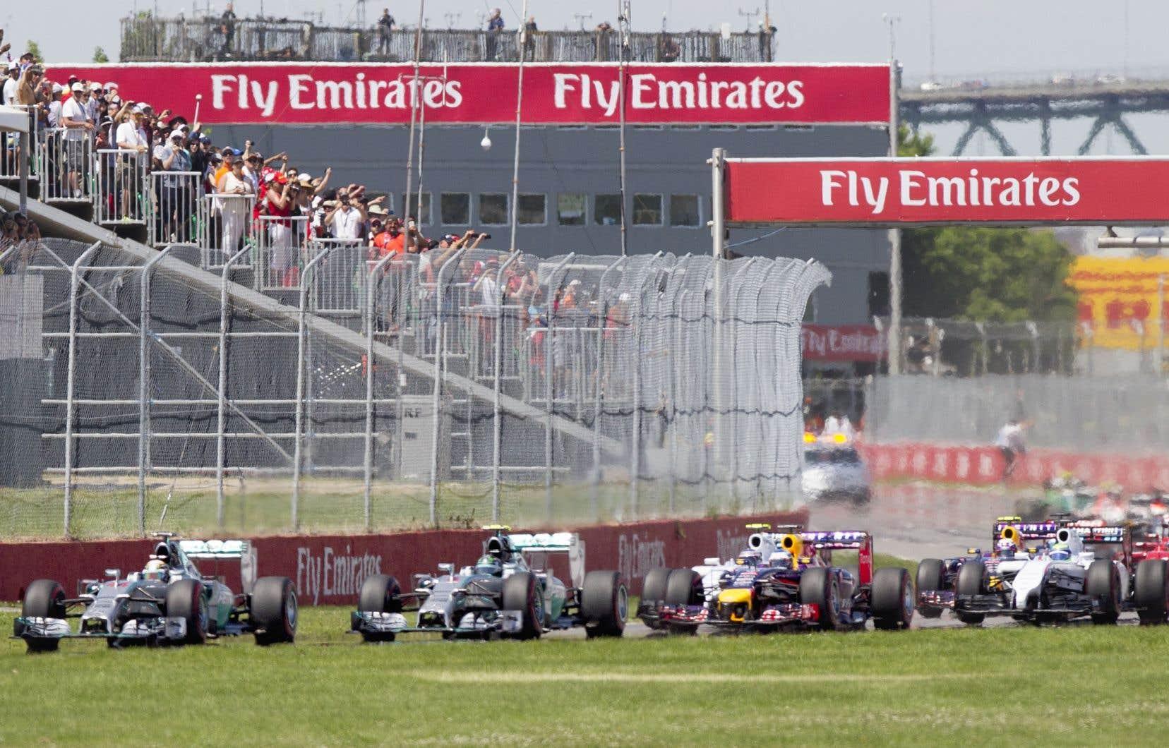 Dans l'entente initiale, la construction des nouveaux <em>paddocks</em>au circuit Gilles-Villeneuve était estimée à environ 30millions.