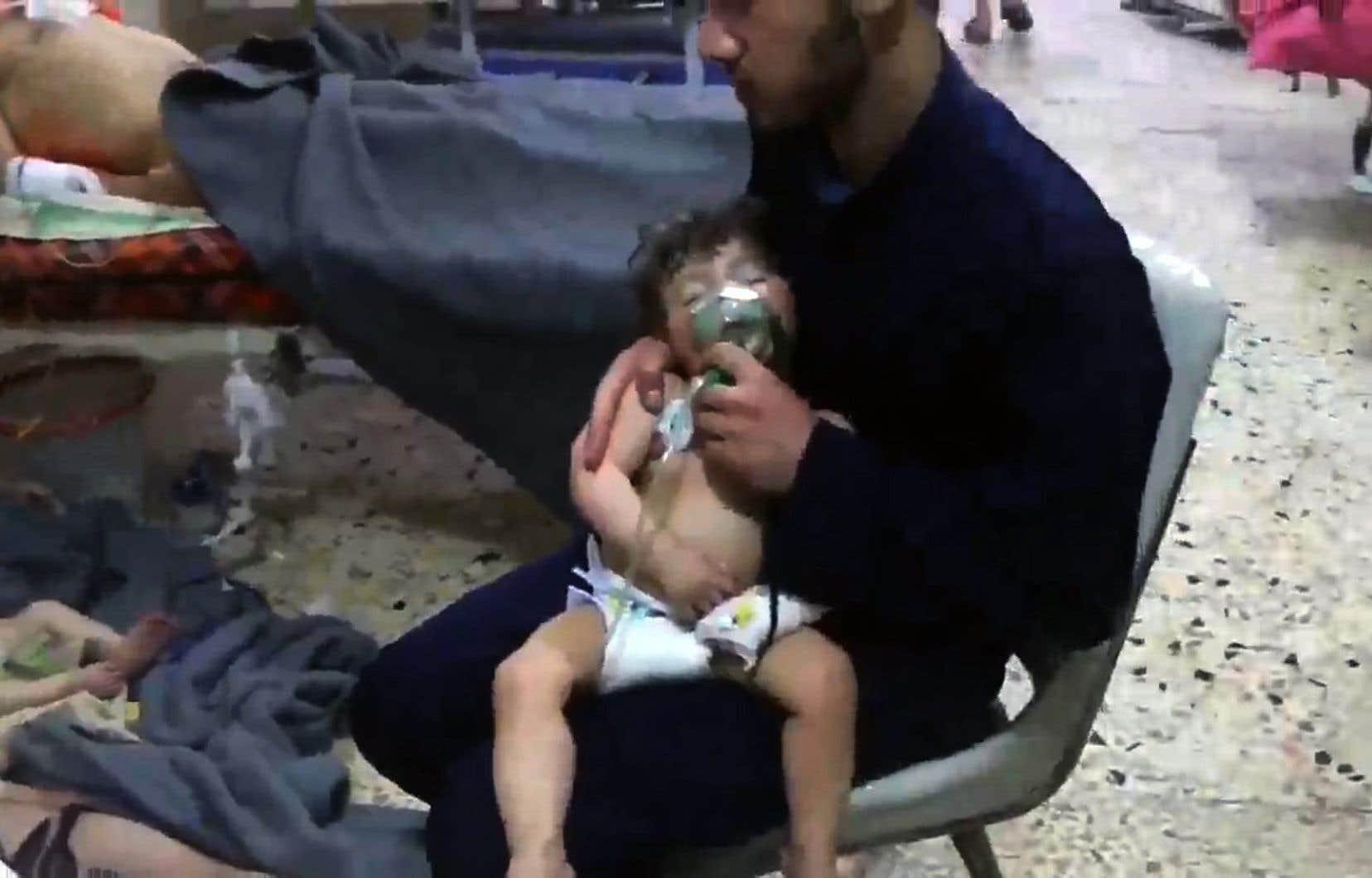 L'attaque chimique attribuée au régime de Bachar al-Assad a soulevé l'ire de la communauté internationale.