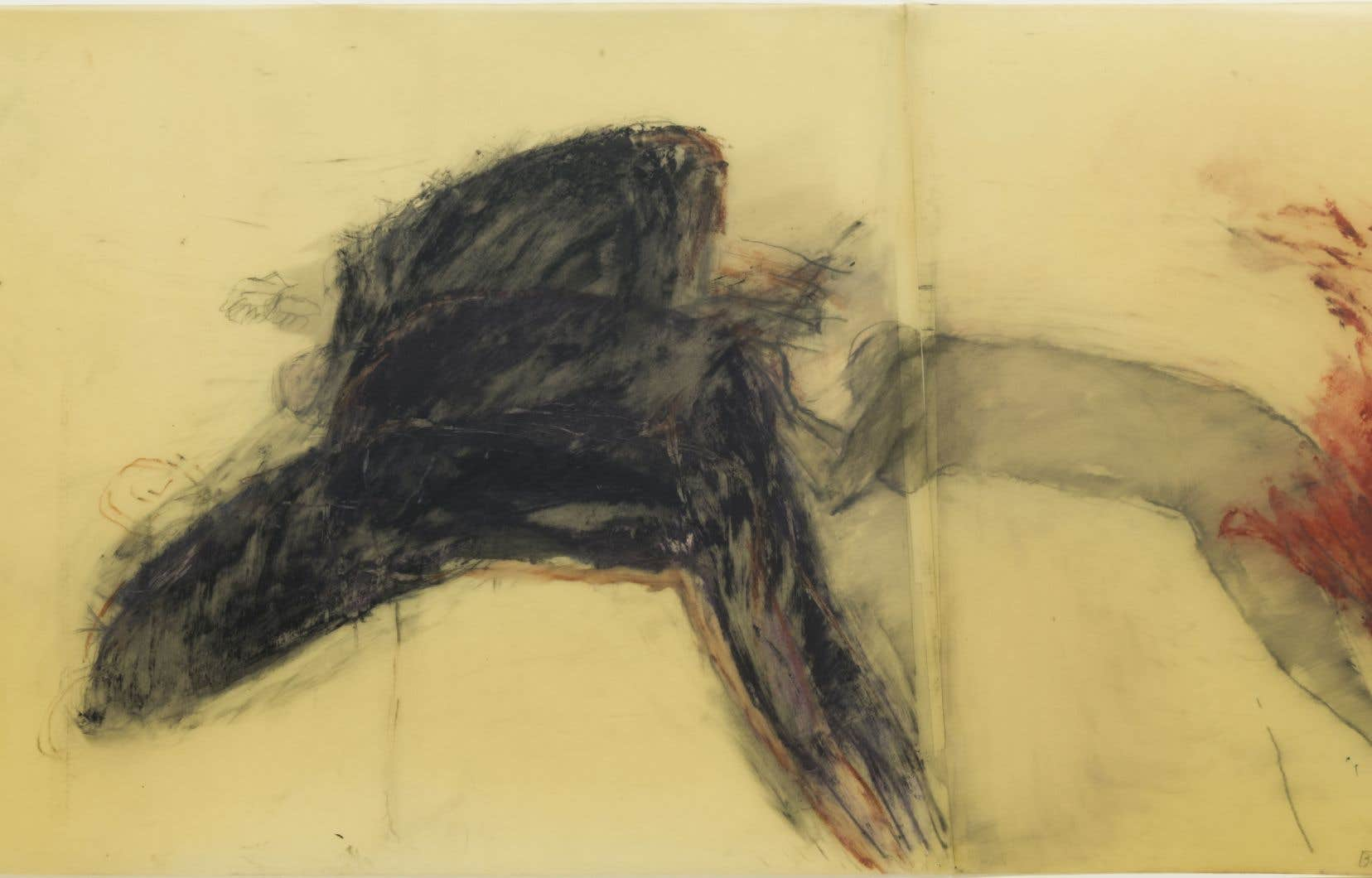 Betty Goodwin, «Study for Carbon», 1986