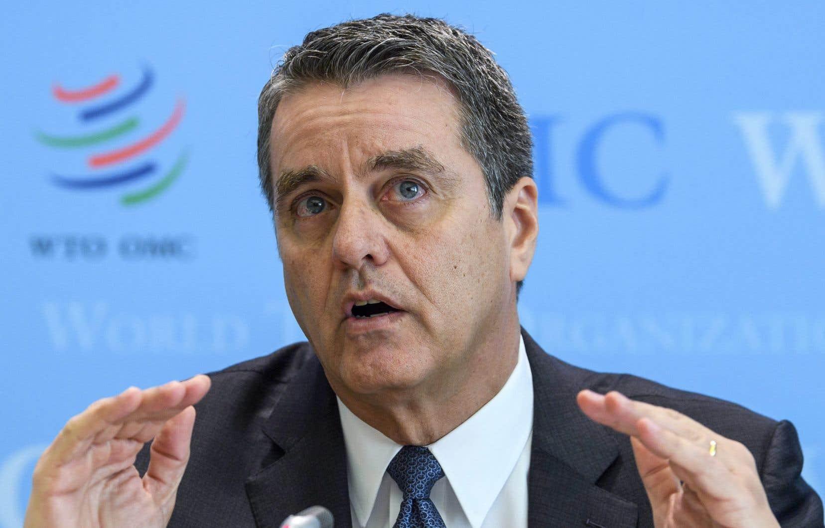 «Un cycle de représailles est la dernière chose dont l'économie mondiale ait besoin», a insisté le directeur général de l'OMC, Roberto Azevedo.
