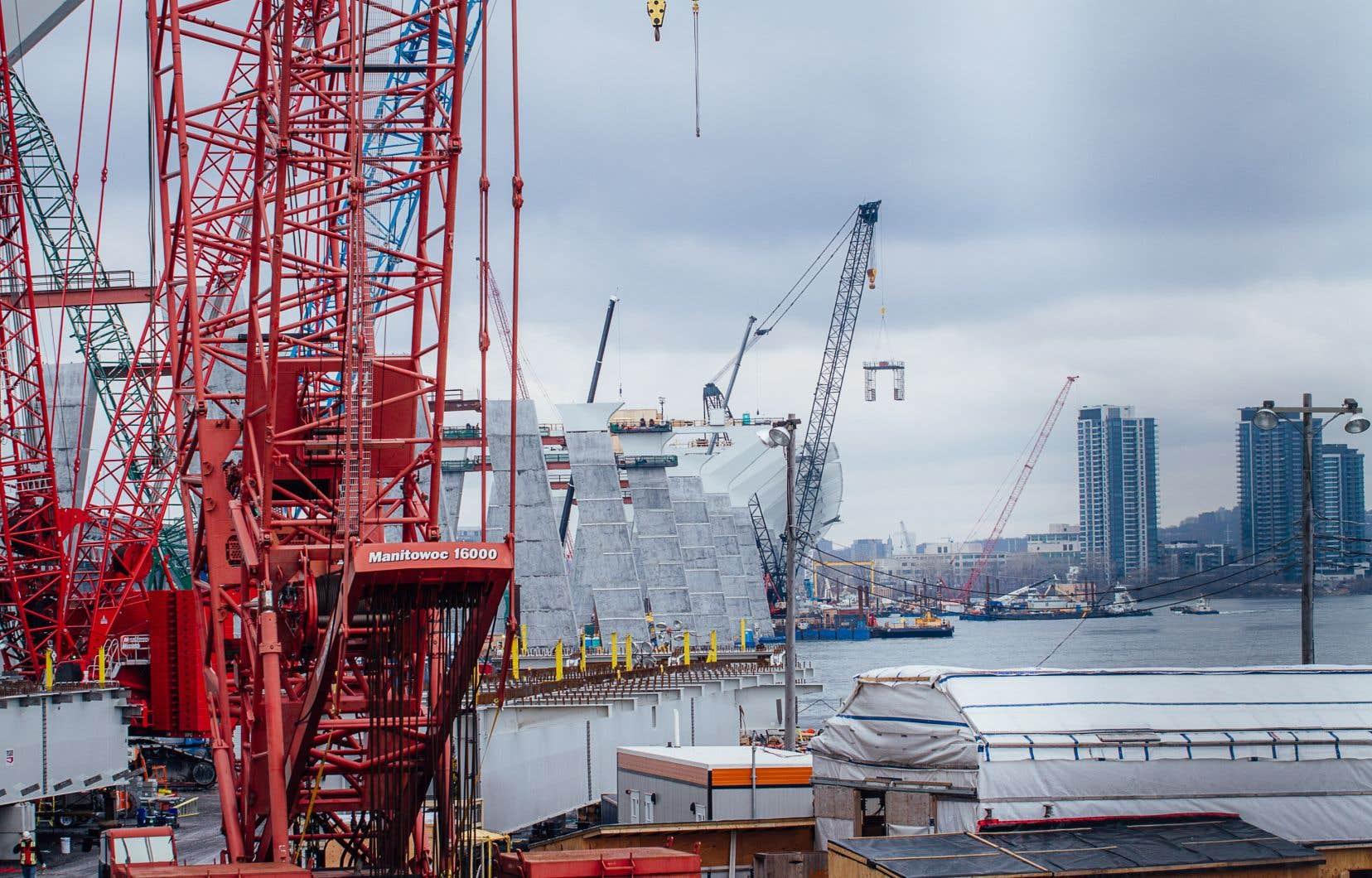 Des négociations étaient menées depuis plusieurs mois entre le gouvernement du Canada et le consortium responsable de la construction du nouveau pont.