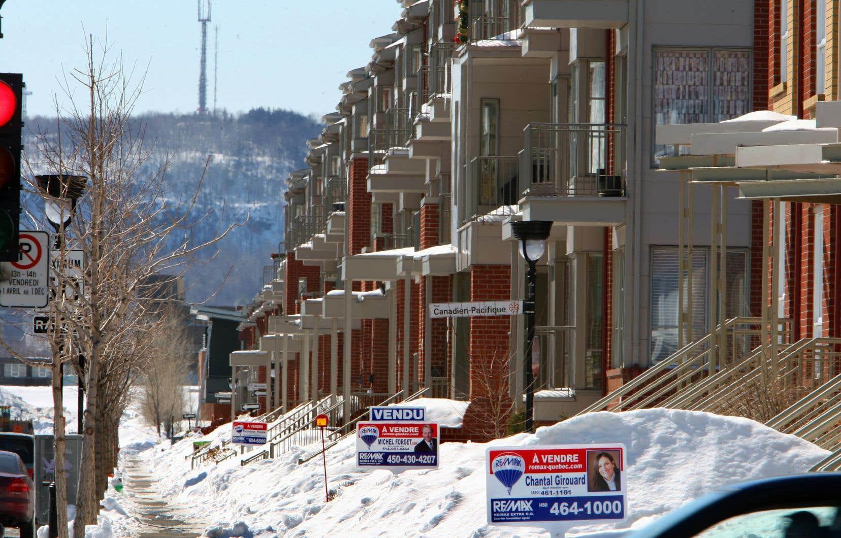 Les appartements ont affiché en mars leur plus forte hausse de prix sur une base annuelle, une croissance de 17,8%.