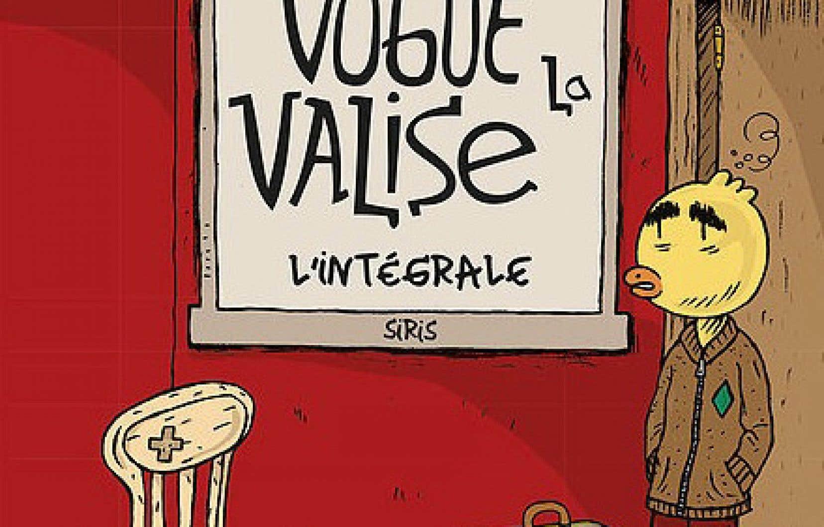 «Vogue la valise» relate l'existence sombre et remplie d'humiliations de La Poule, alter ego du bédéiste de 55 ans, au cours d'une jeunesse passée en famille d'accueil.