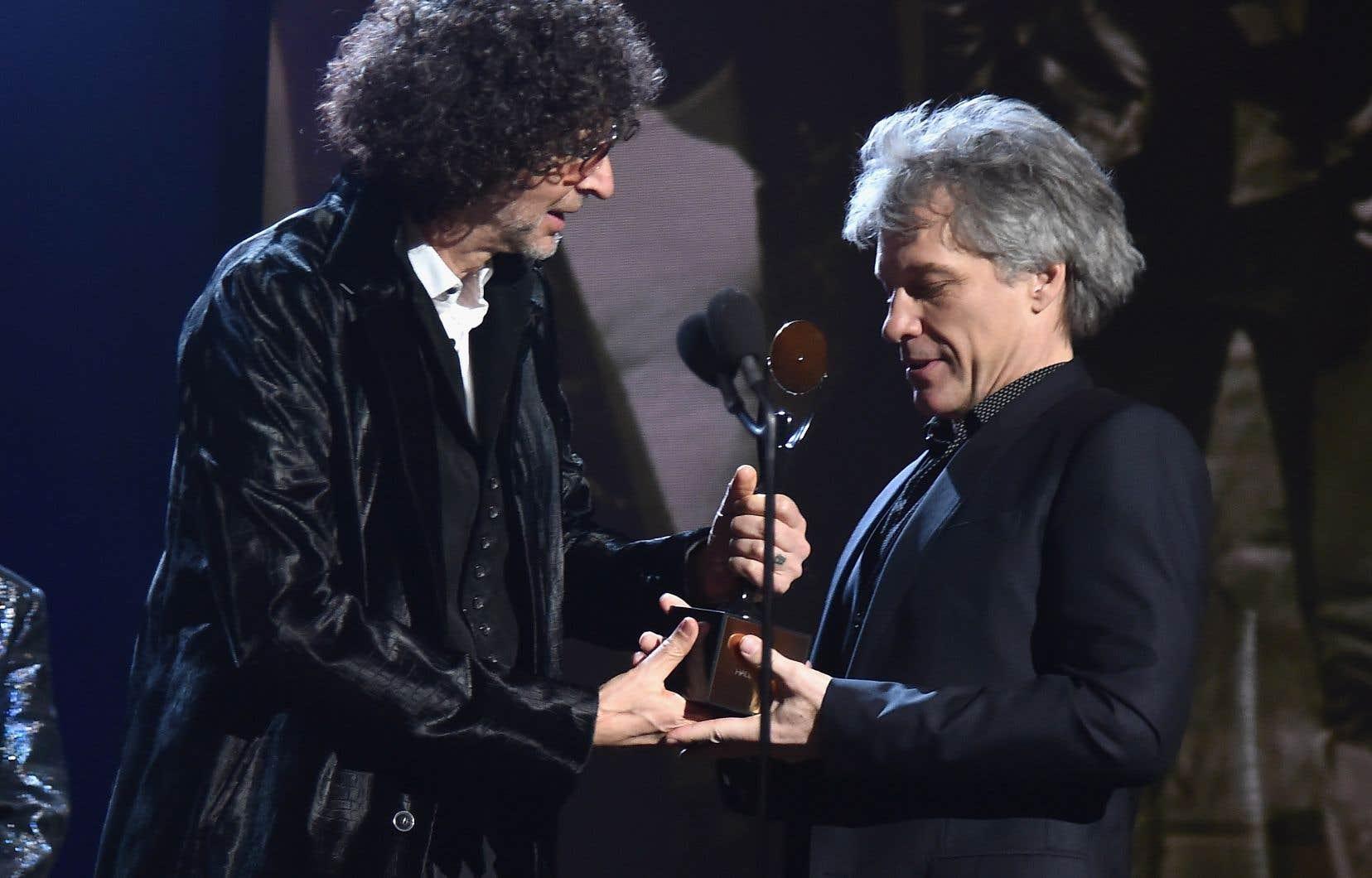 Bon Jovi fait partie des six artistes et groupes qui font leur entrée au Temple de la renommée du rock and roll cette année.