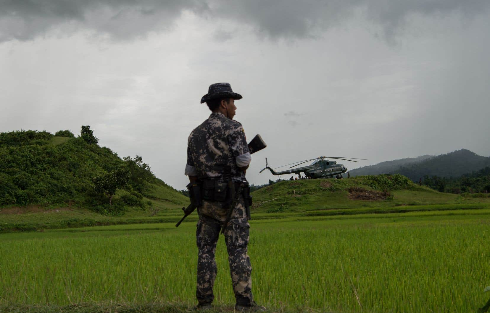 Maungdaw, dans l'État de Rakhine, est l'épicentre des violences contre les Rohingyas.