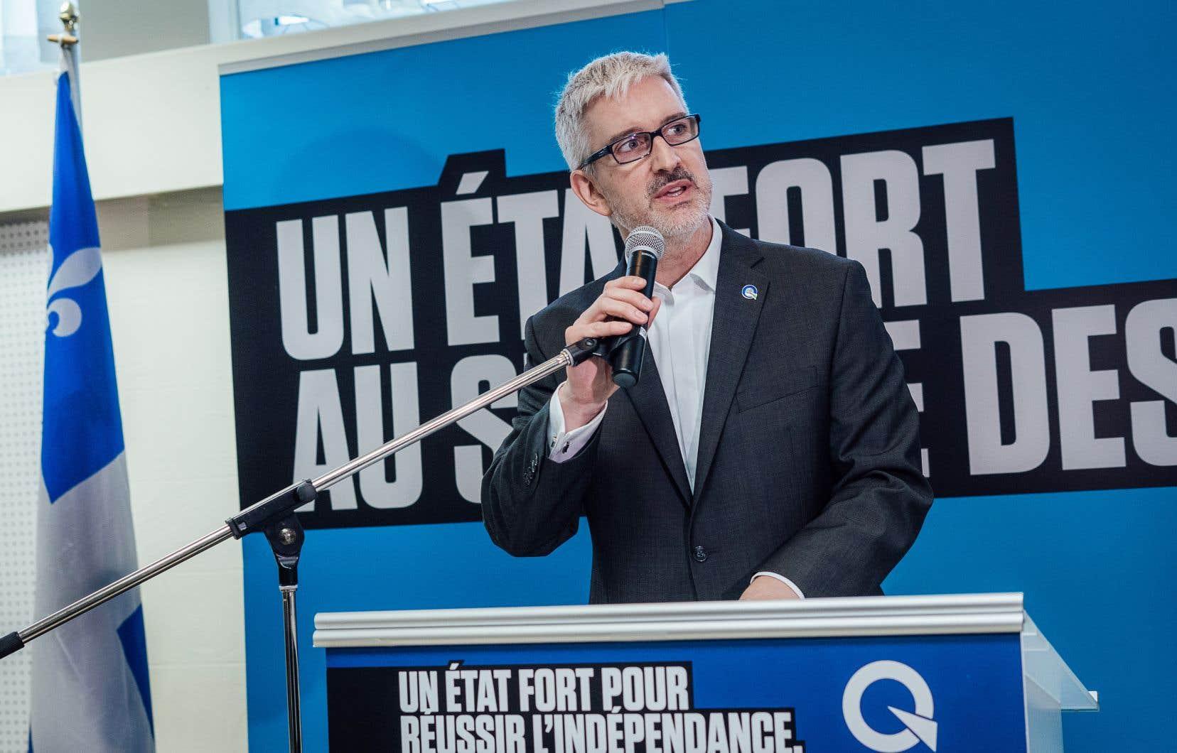 Jean-Martin Aussant se dit «convaincu» que le Parti québécois conservera Pointe-aux-Trembles lors des élections d'octobre.