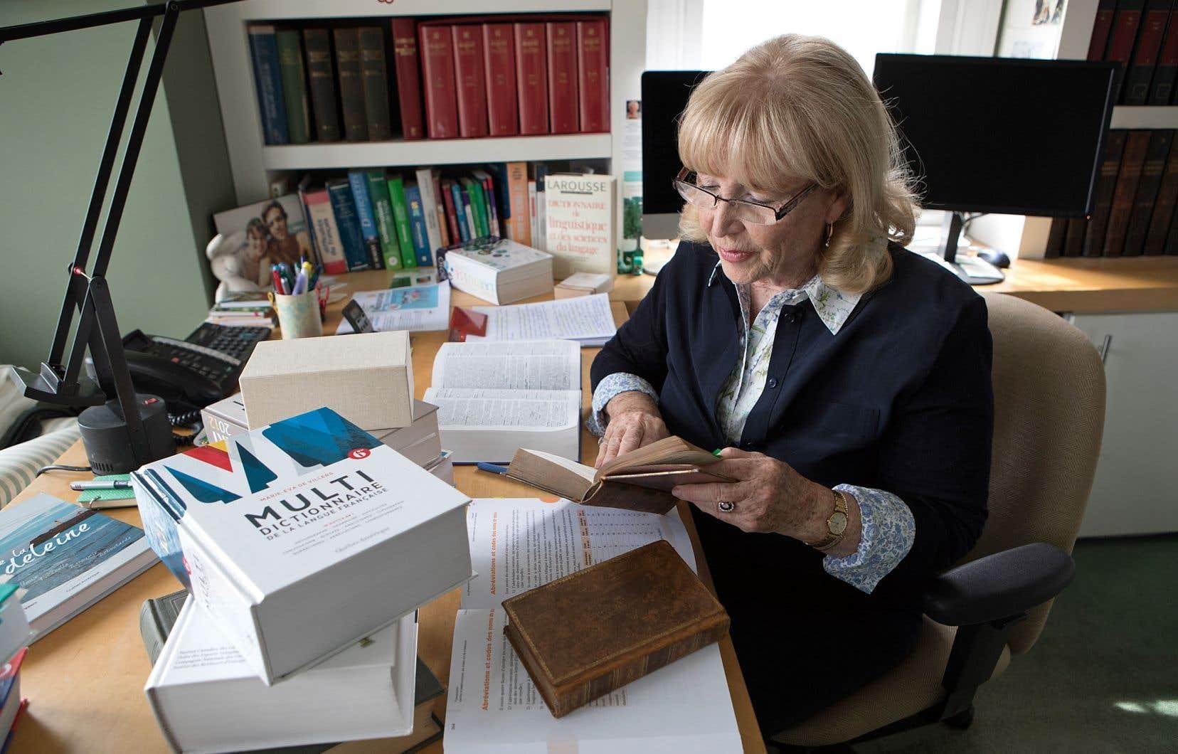 Pour Marie-Éva de Villers, auteure du «Multidictionnaire de la langue française», «il faut qu'il y ait un partage équitable des revenus entre les créateurs de contenu, les producteurs et les distributeurs» pour assurer la pérennité du dictionnaire.