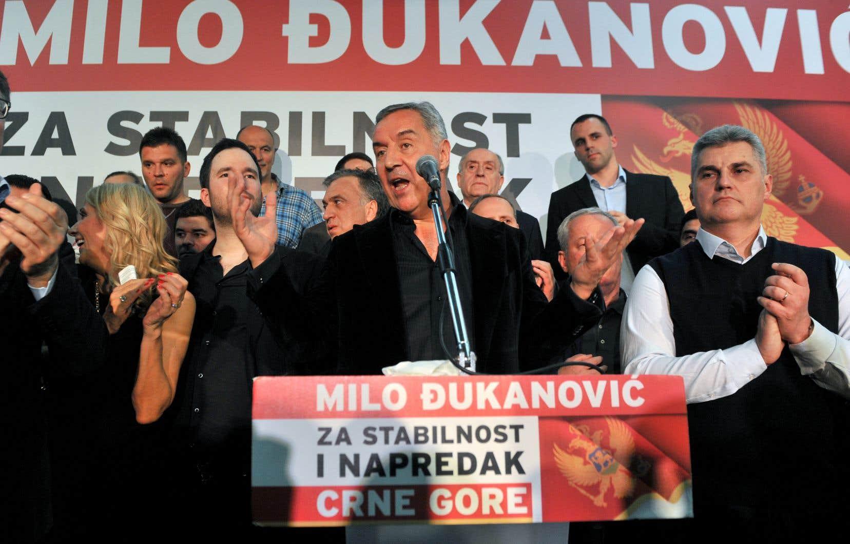 Le dirigeant historique du Monténégro, Milo Djukanovic, a retrouvé dimanche un pouvoir abandonné il y a moins de deux ans.