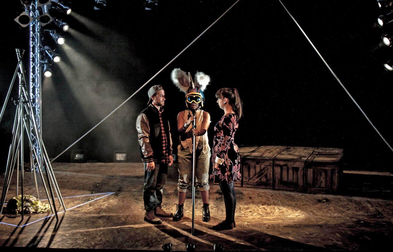 La 22eédition du festival Rencontre Théâtre Ados présente dix créations, dont «Ceci n'est pas une lettre d'adieu...».