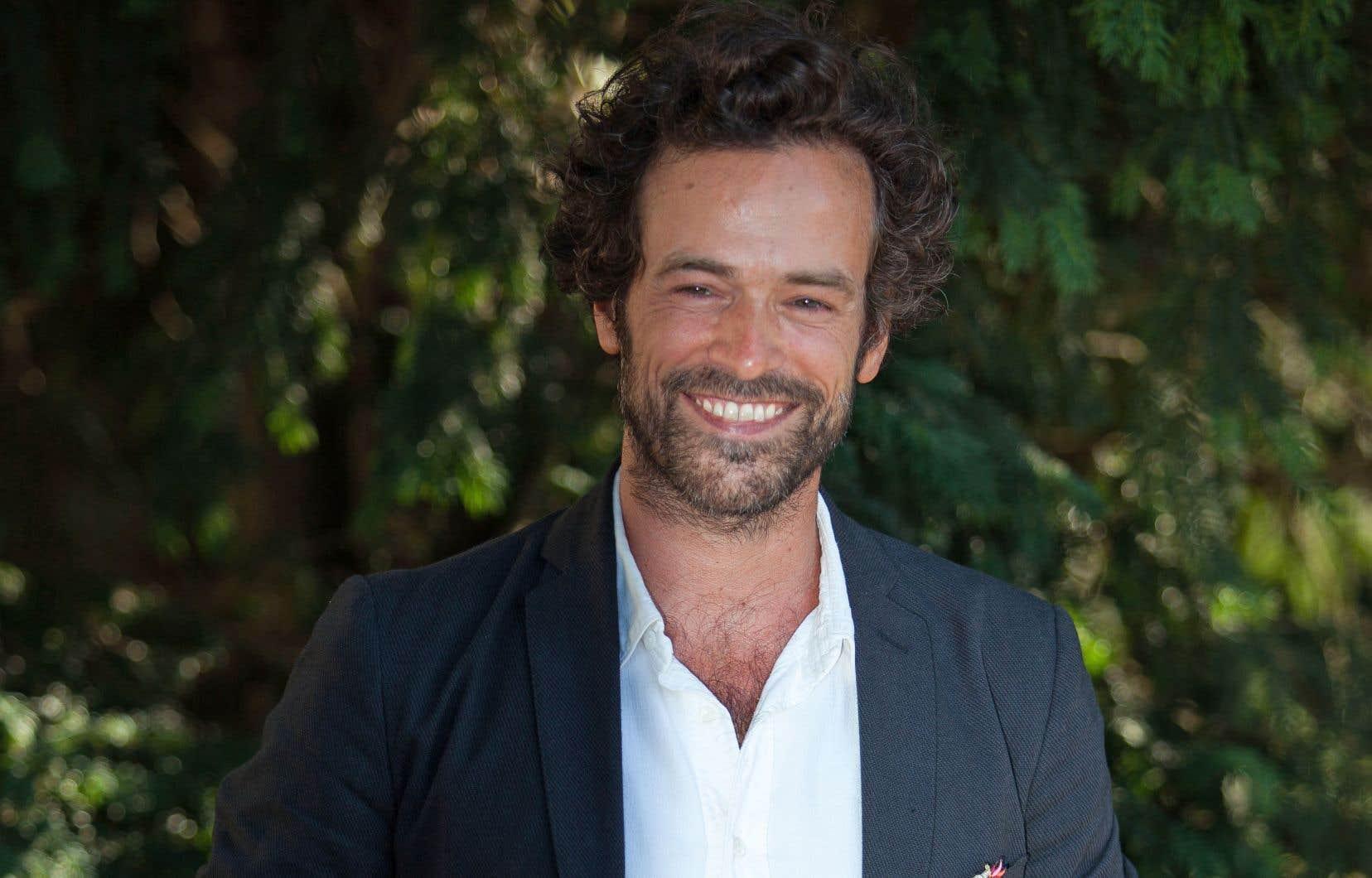 L'acteur françaisRomain Duris