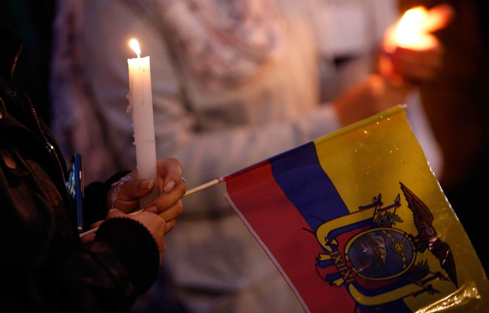 Cet enlèvement s'ajoute au drame qui a bouleversé l'Équateur, avec la prise en otage et l'assassinat des journalistes Javier Ortega et Paul Rivas, ainsi que de leur chauffeur Efrain Segarra.