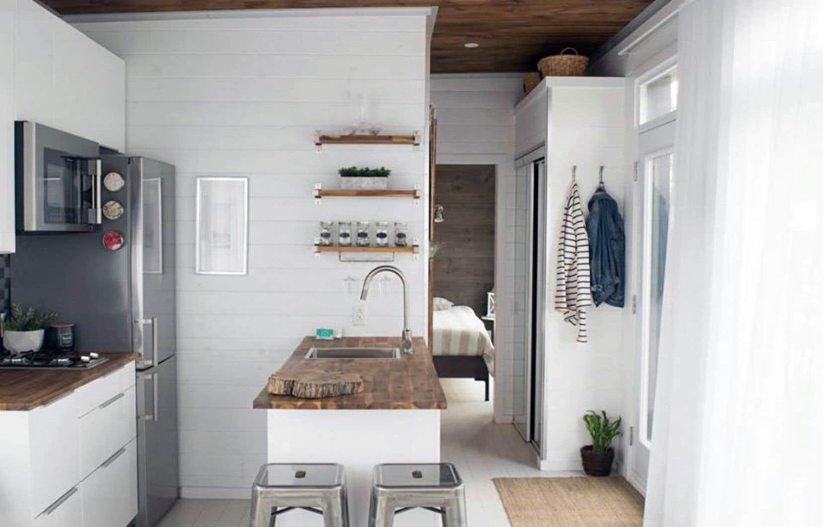 Mini Maisons Vivre Dans Tout Petit Le Devoir