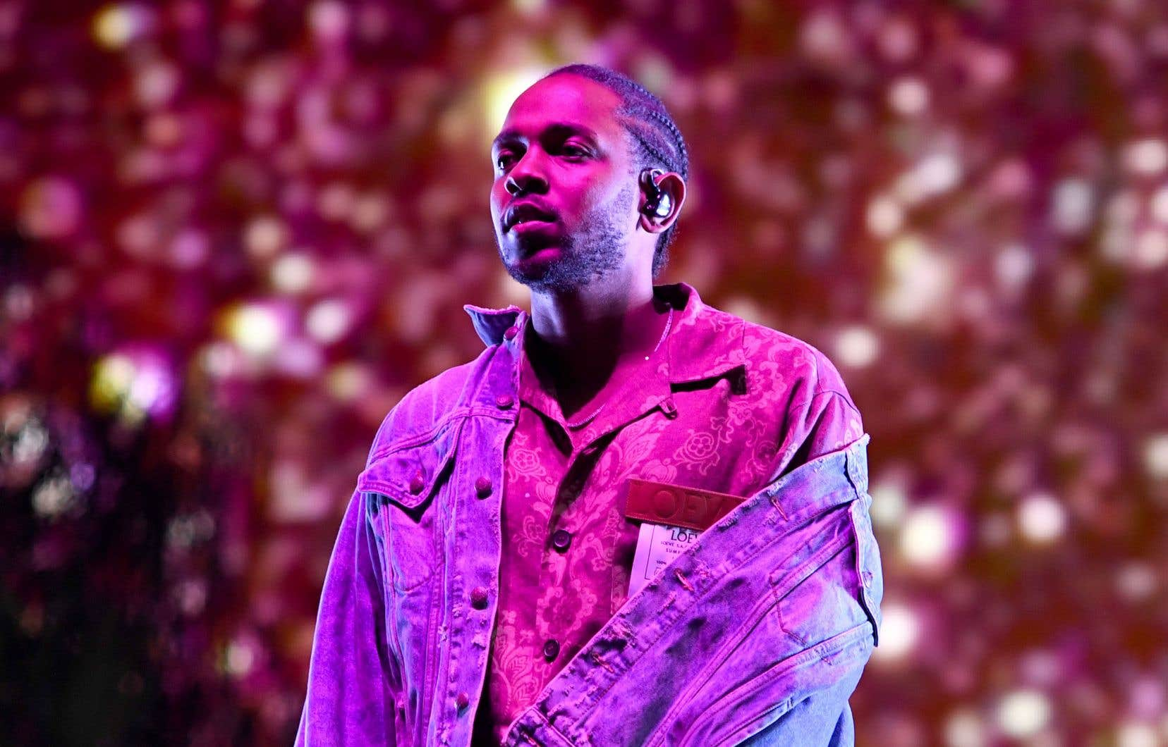 Le rappeur californien Kendrick Lamar est devenu un étendard à médailles systématique dans l'Amérique contemporaine.