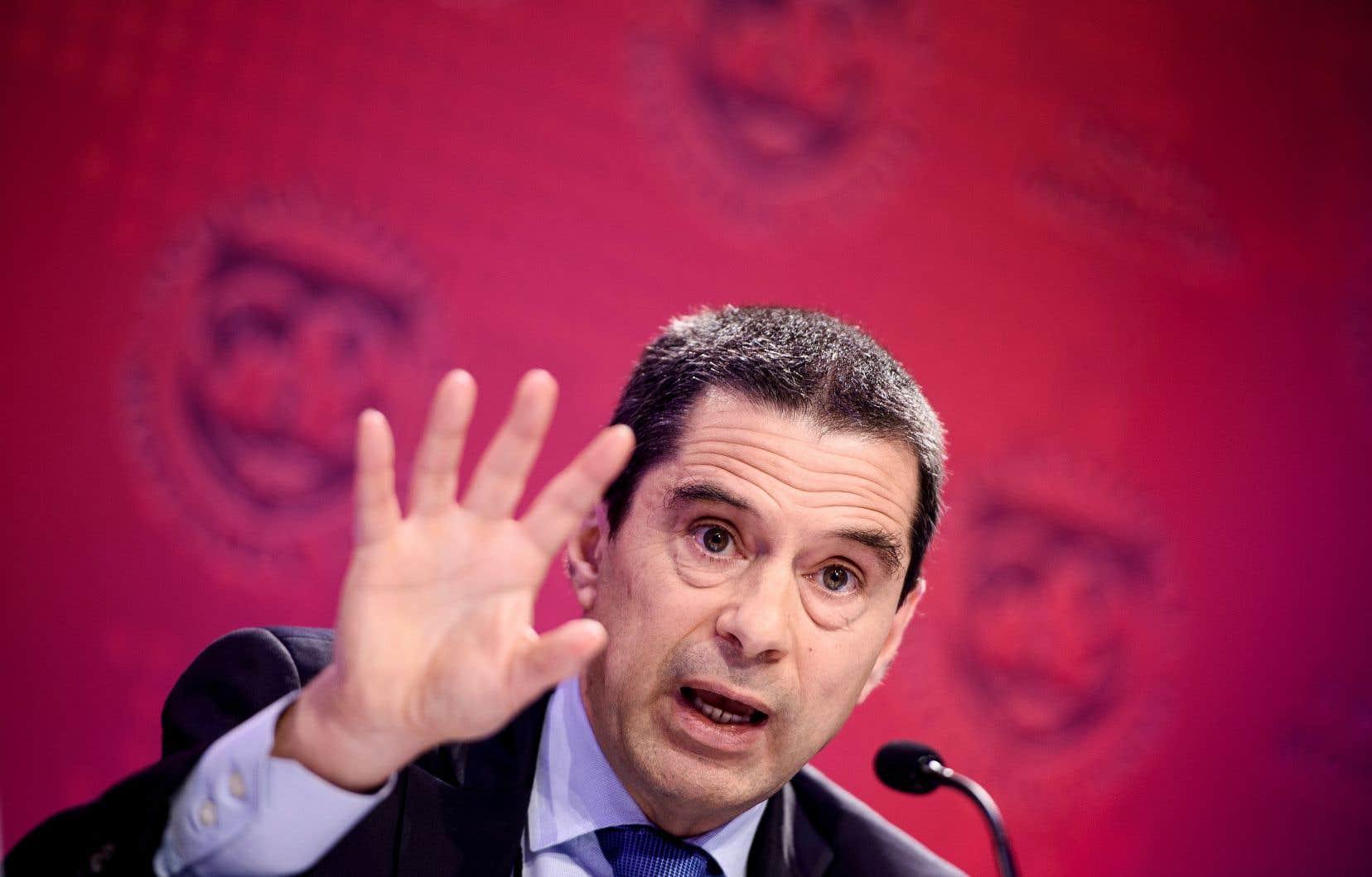 Vitor Gaspar, responsable des affaires budgétaires du Fonds monétaire international