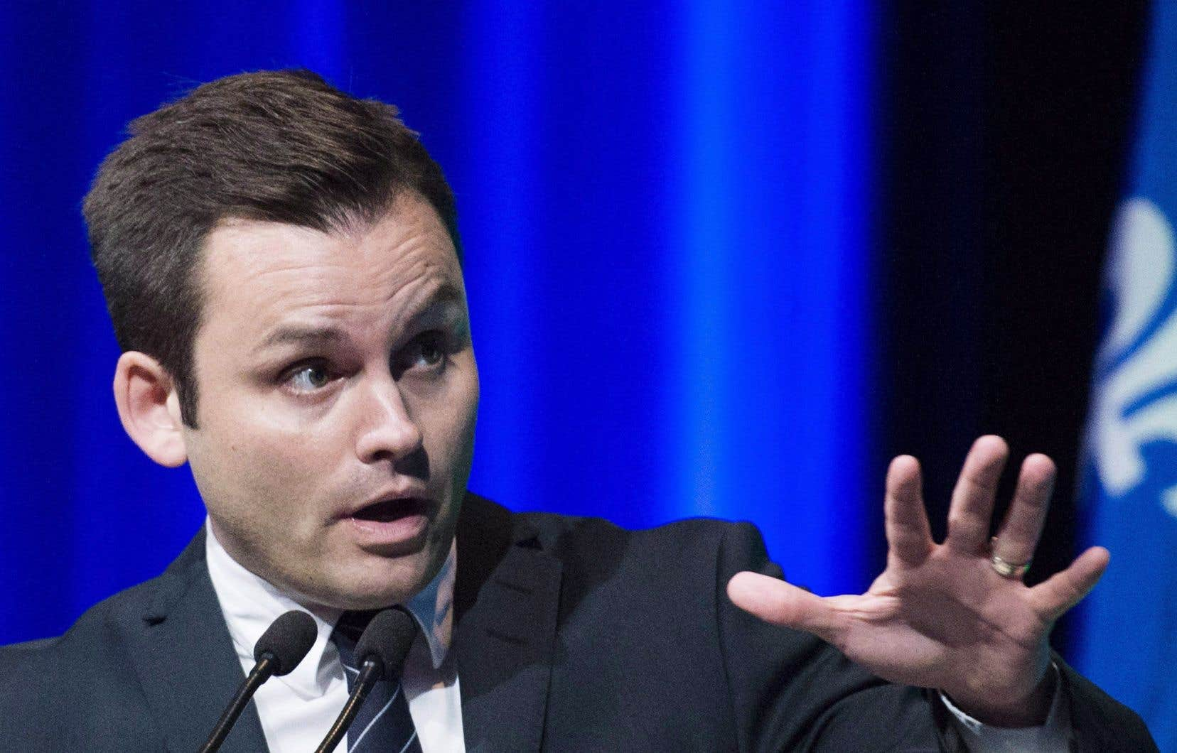 Le conseiller spécial au Parti québécoisPaul St-Pierre Plamondon