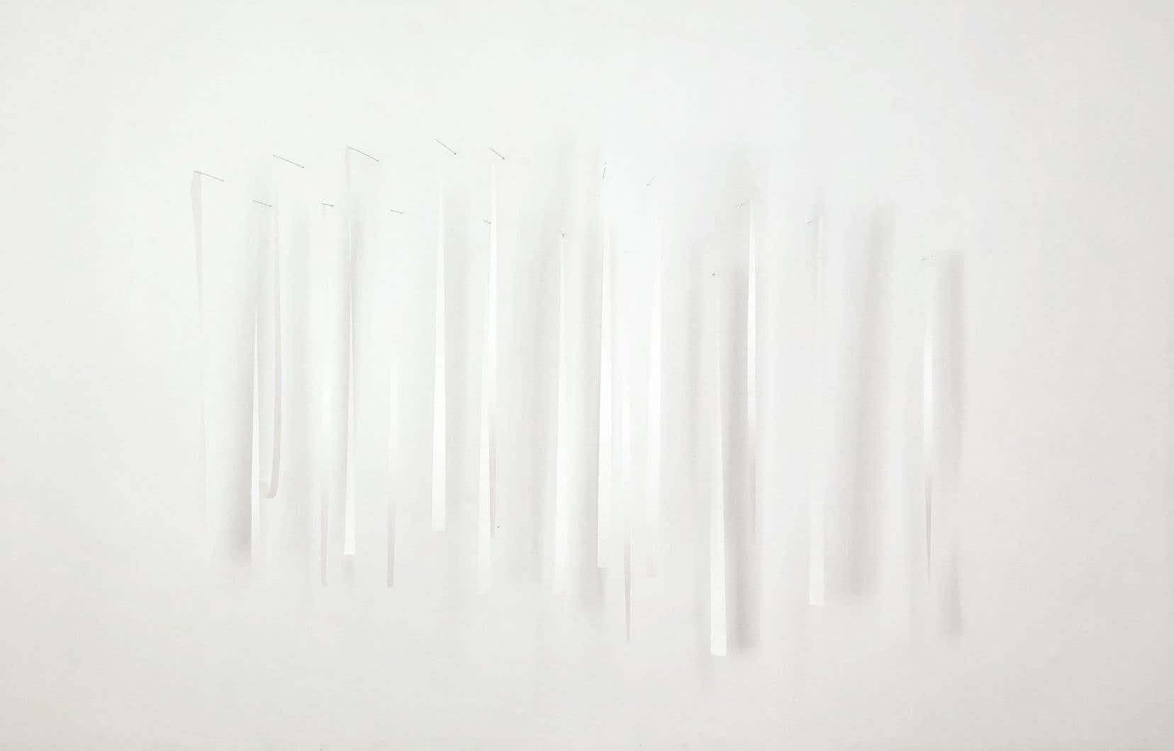 Vue de l'exposition de Karilee Fuglem