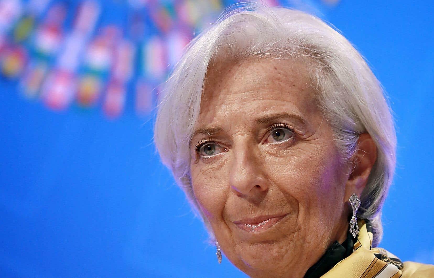 «Les pays devraient travailler ensemble pour résoudre leurs différends sans avoir recours à des mesures exceptionnelles», a déclaréla directrice générale du FMI, Christine Lagarde.
