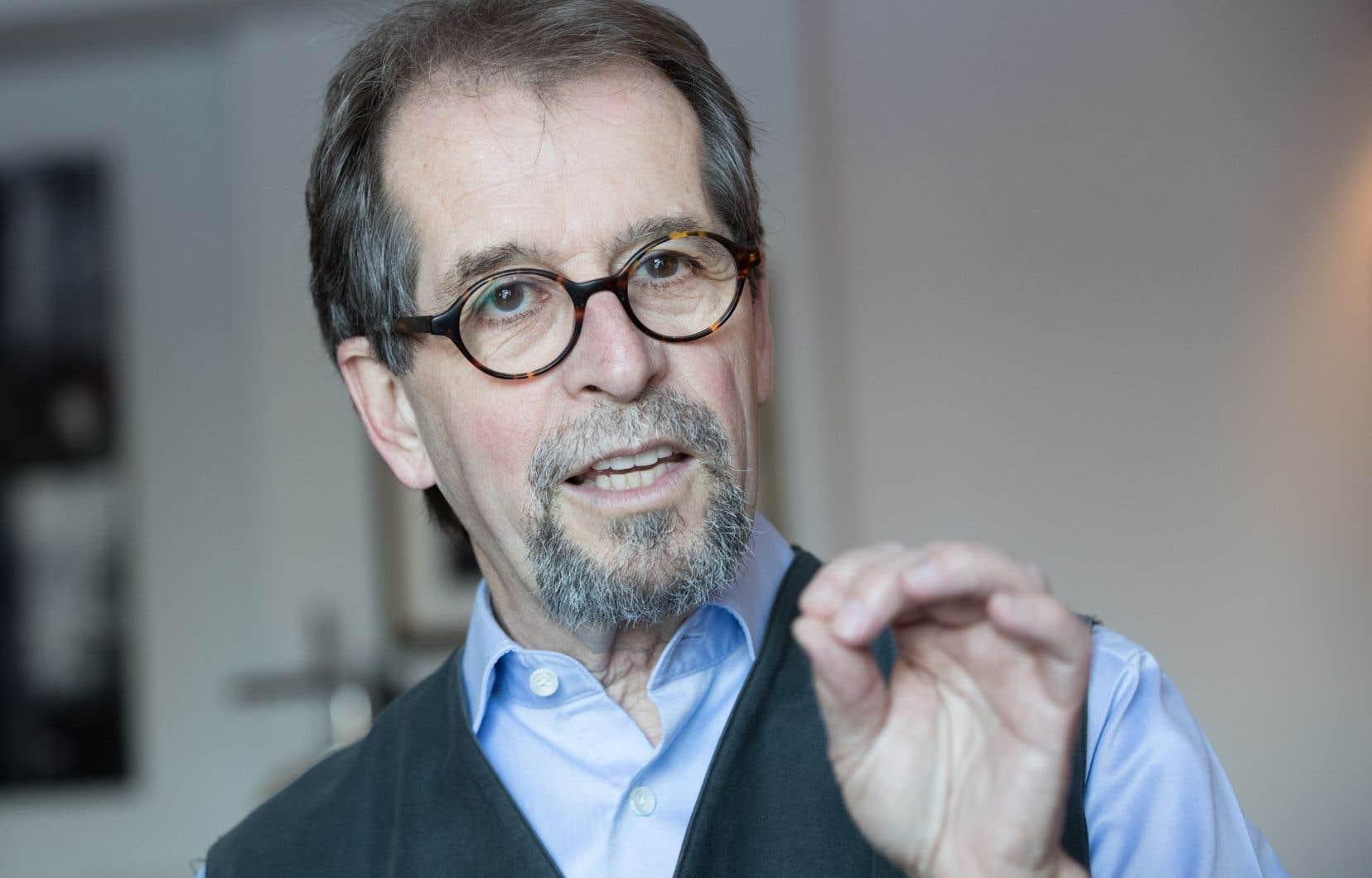 Le conseiller en éducation du Parti québécois, Camil Bouchard, en février dernier