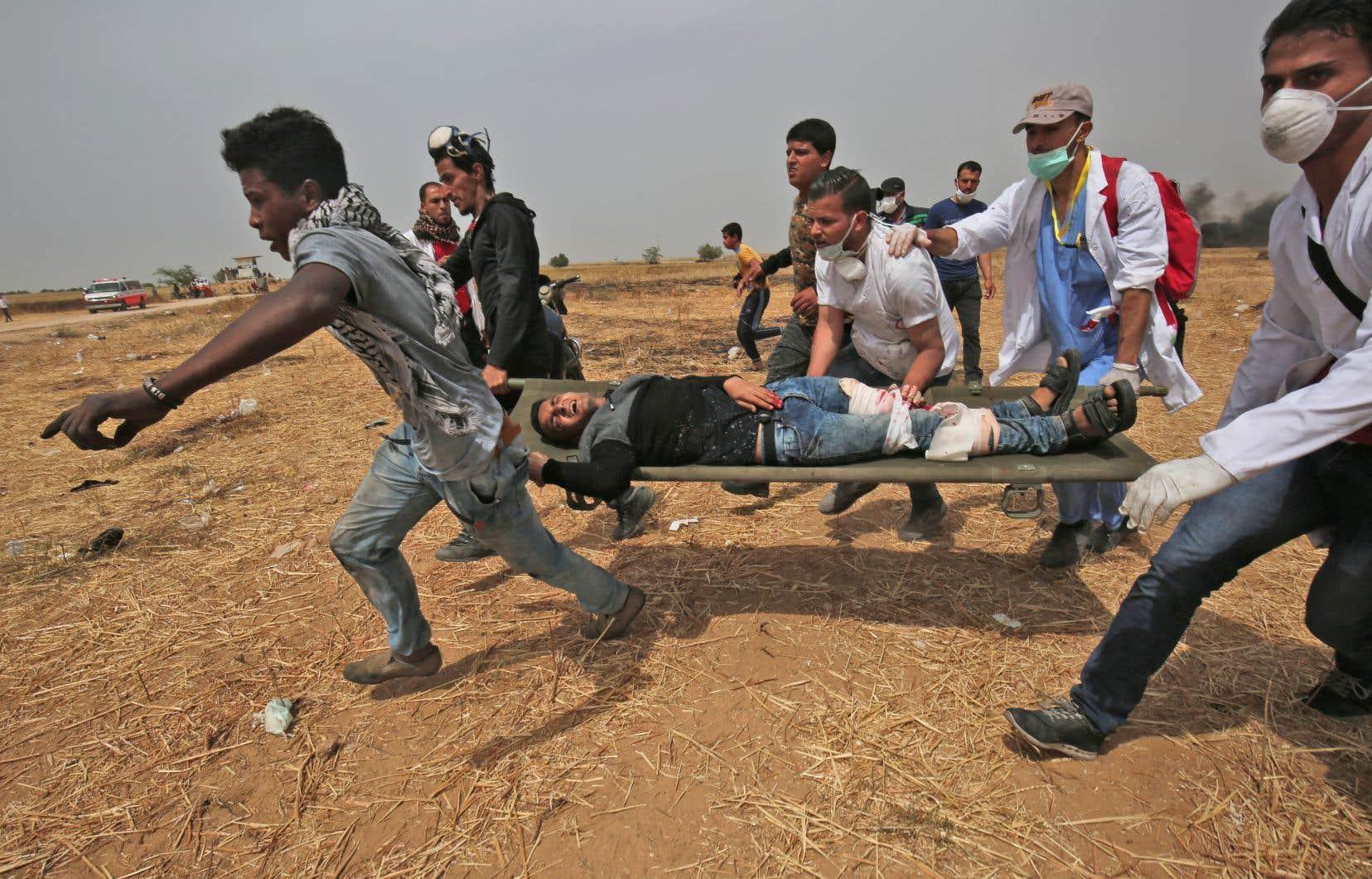 D'importantes manifestations ont lieu à la frontière d'Israël et de Gaza pour un quatrième vendredi consécutif.