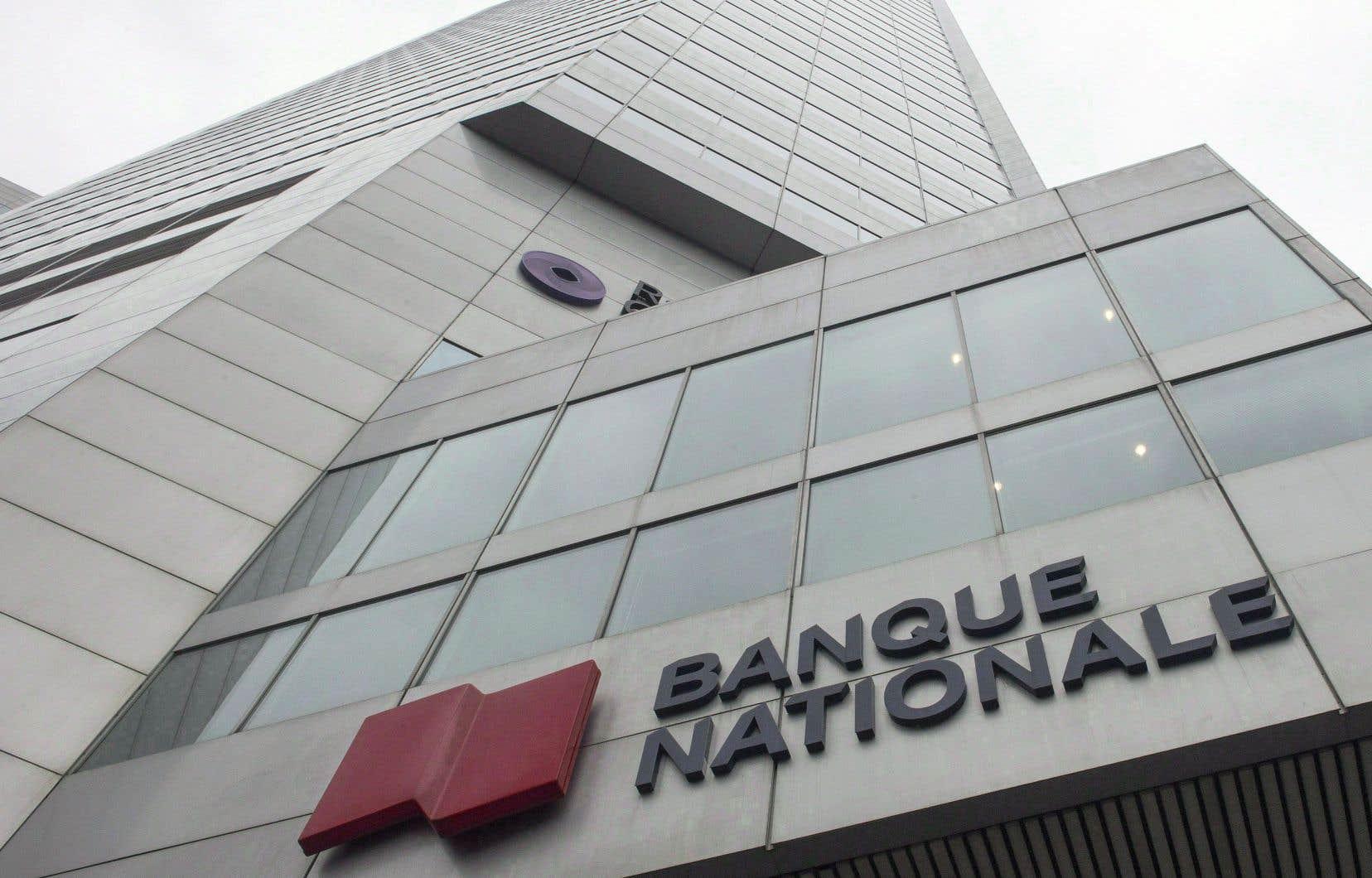 La Banque Nationale croit qu'il s'agit de la première transaction impliquant une institution financière nord-américaine.