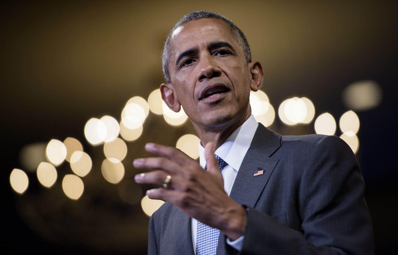 L'ancien président américain Barack Obama prononcera le discours annuel de la Fondation Mandela en Afrique du Sud le 17 juillet prochain.