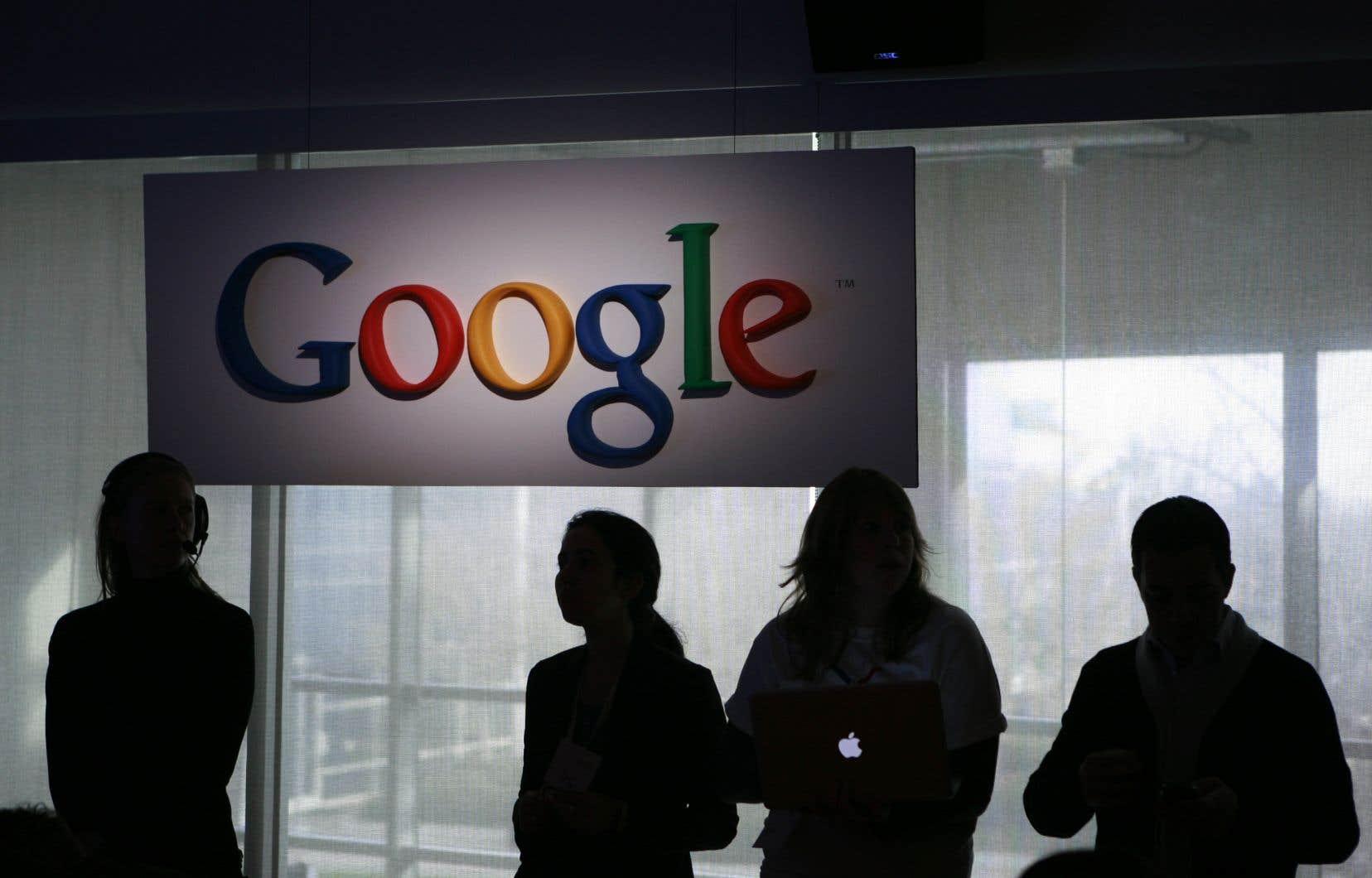 Les recettes publicitaires de Google ont représenté à elles seules 26,6 milliards de dollars de chiffre d'affaires.